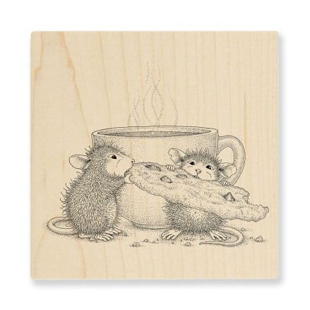 Cookie Crumbles Wood Stamp
