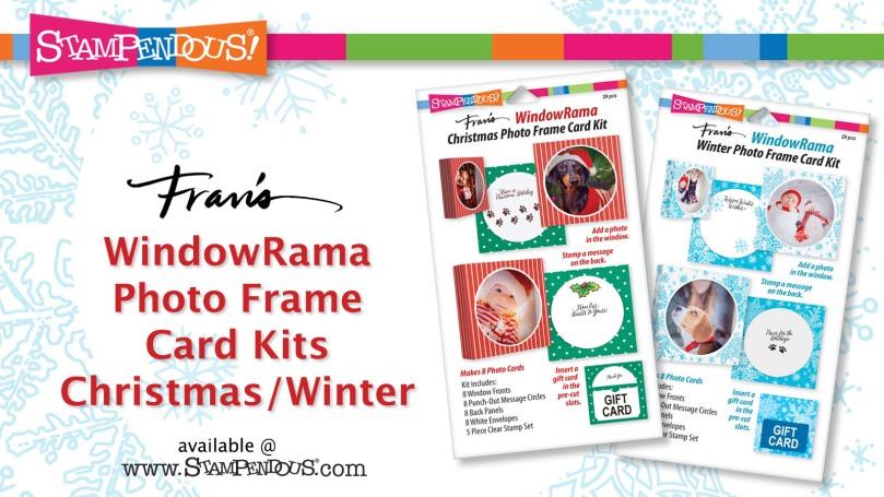 WindowRama Photo frame Card Kits