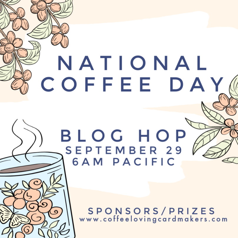 National Coffee Day Blog Hop Logo