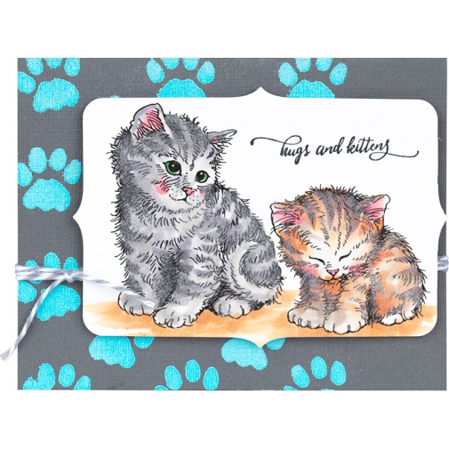 Kitten Hugs Card