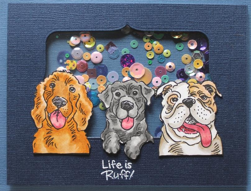 dog Kisses card