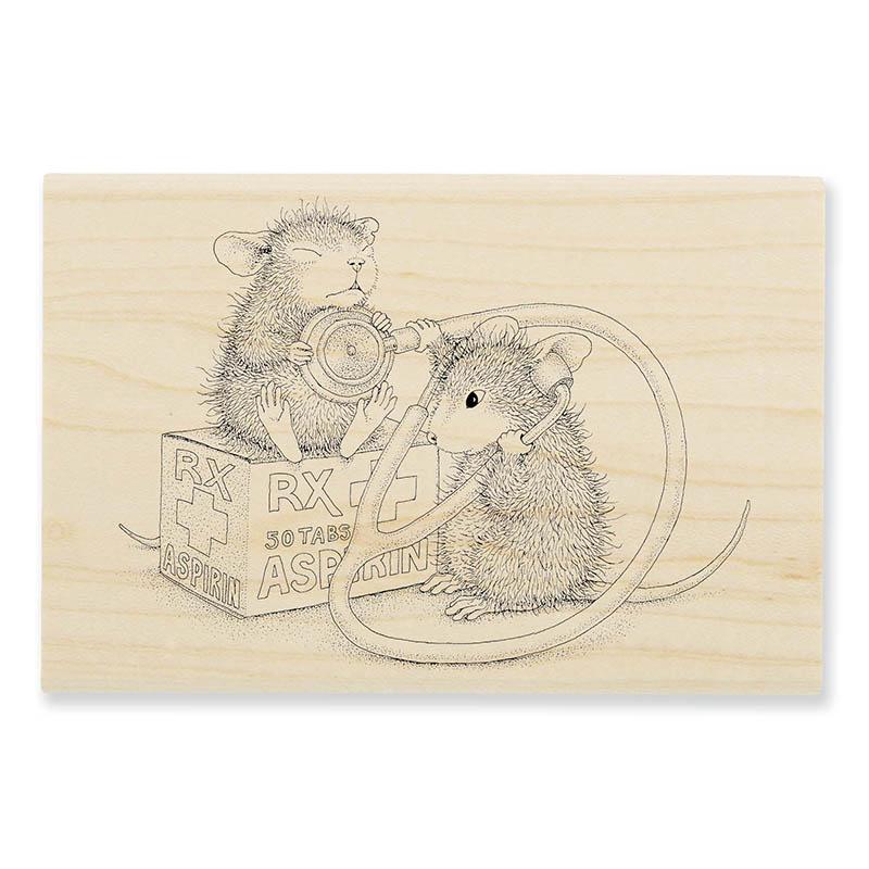 Nurse Mouse Stamp