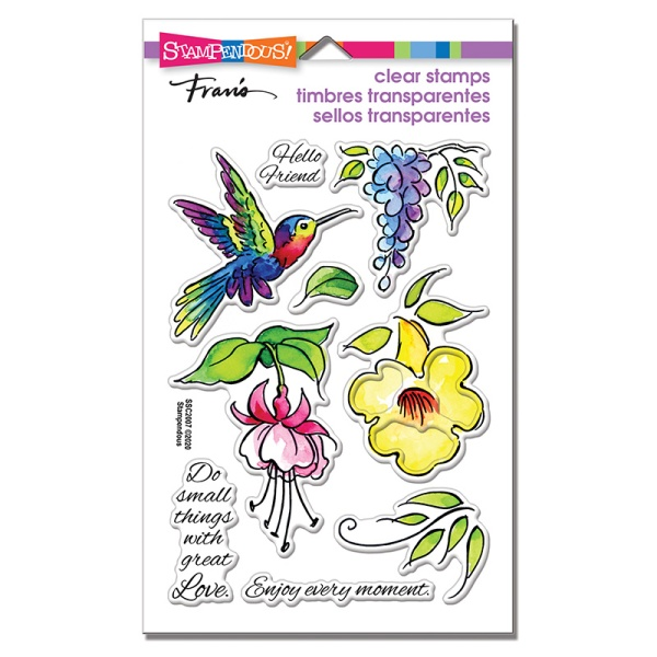 Hummingbird Hello Watercolor set
