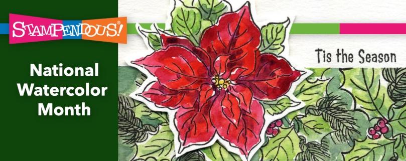 Poinsettia season banner