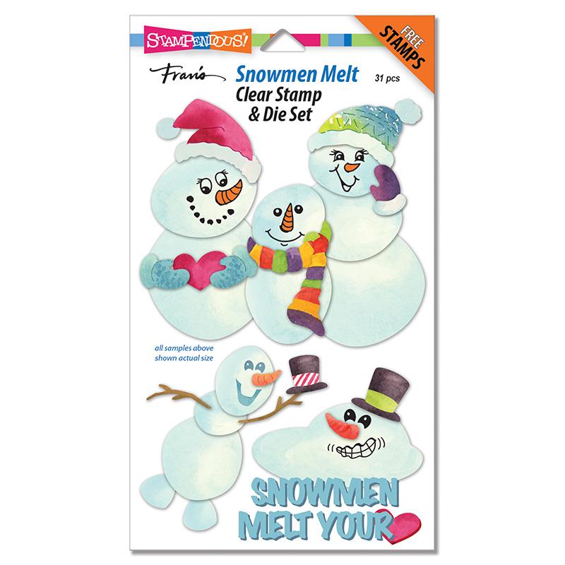 Snowmen Melt Die Set