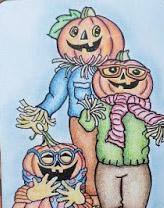 Pumpkin Pals Closeup