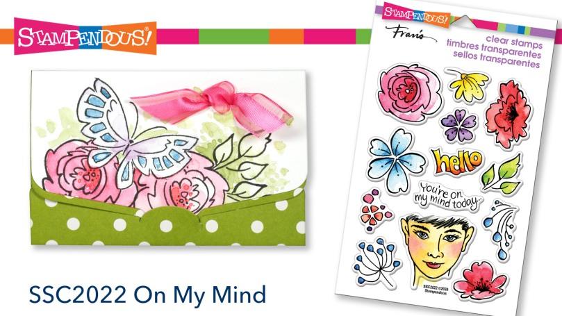 On My Mind Stamp Set Title