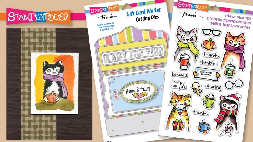 Thankful Kitty and Gift Card Wallet