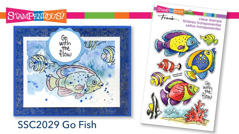 Go Fish Perfectly Clear Stamps