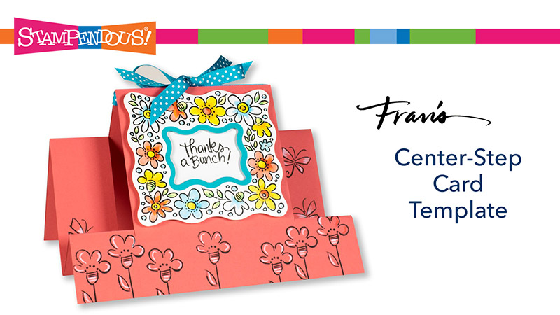 Center Step Card Template