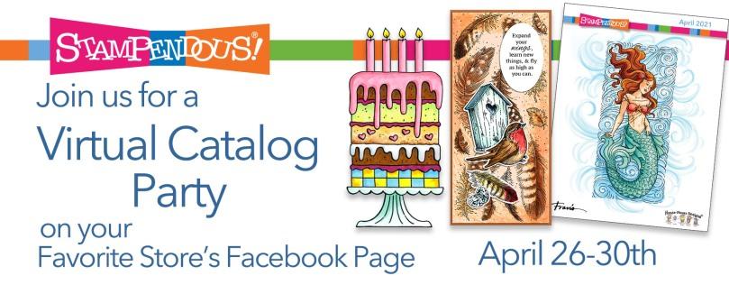 April 21 Virtual Catalog Party Banner